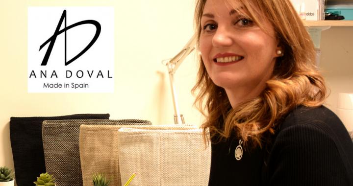 Ana Doval y su marca de bolsos que cuida el planeta