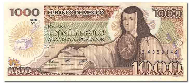 Las mujeres en el papel moneda