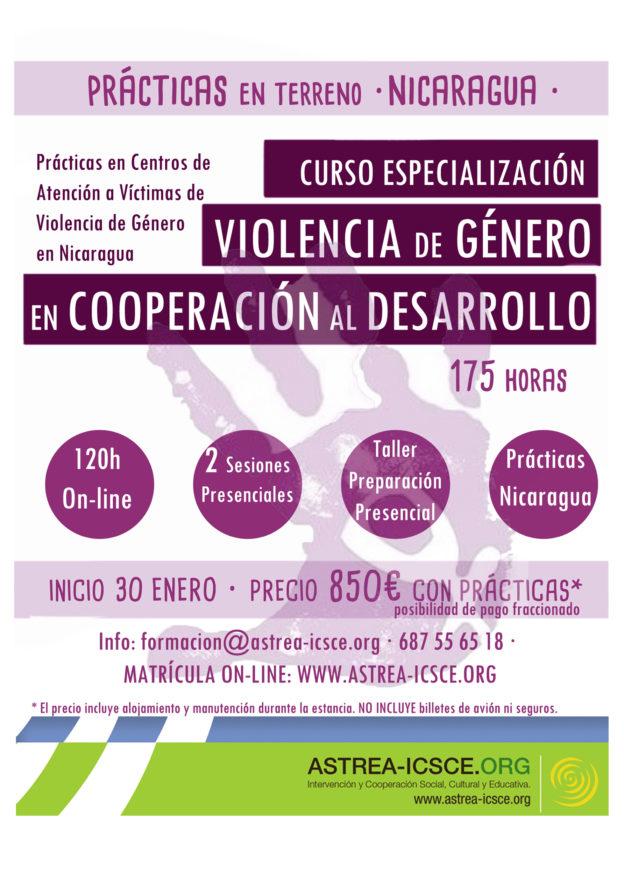 Curso Violencia de Género con prácticas en Nicaragua