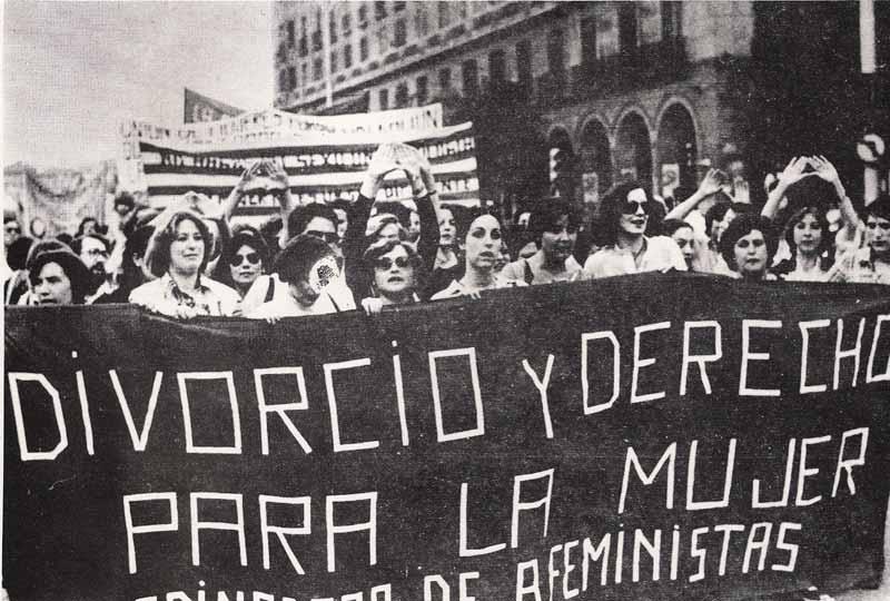 La transición del movimiento feminista en España